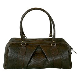 Francis Bowling Bag - Chocolate