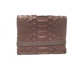 Elastic Rubber Card Holder - Chocolate